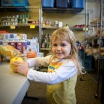 children find nourishment at a local food bank thanks to you