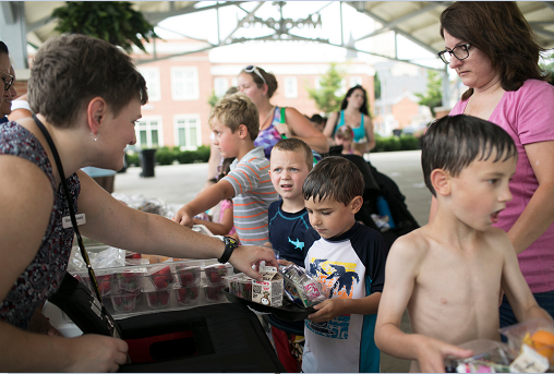 New York Times article - how library feeds kids in summer